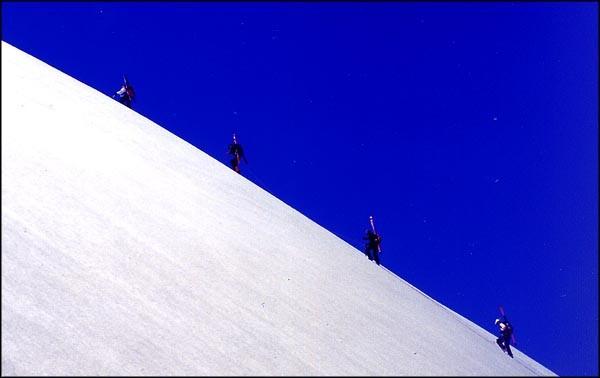 Montee au Classen Saddle 2213m.