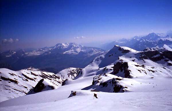 Telemark sur le glacier du Ténéhet bis, Wildhorn