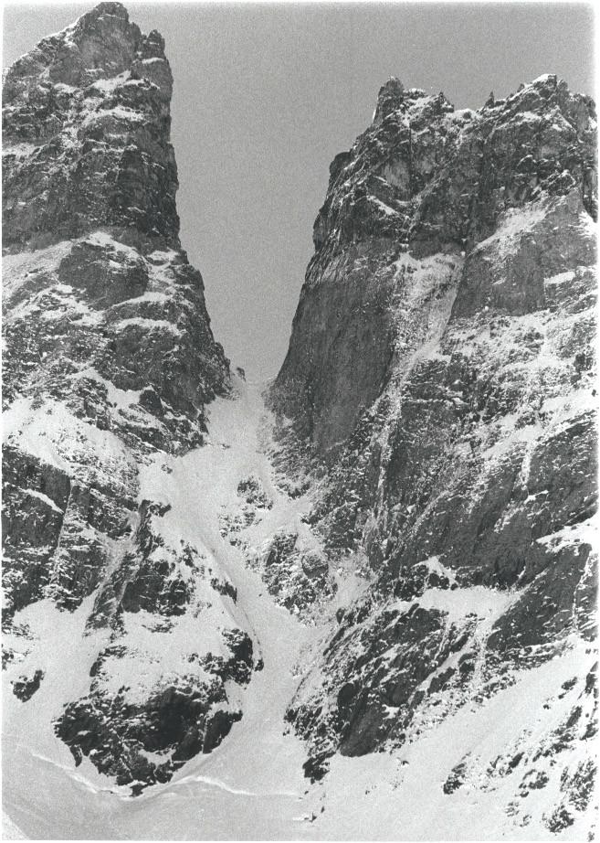 Le Coup de Sabre du glacier Noir