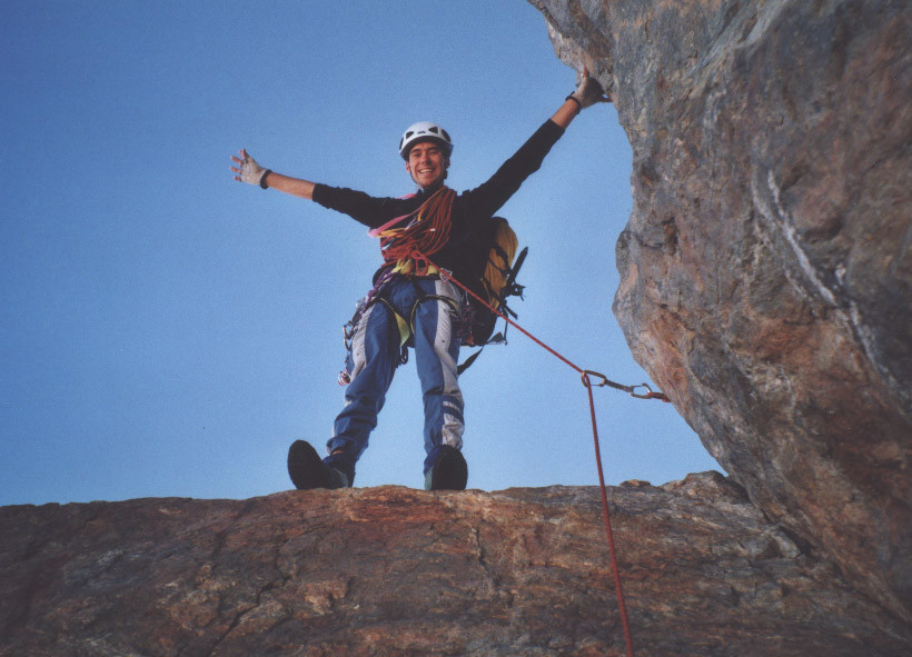 Le Cheval Rouge : dernier passage-clef avant le sommet de la Meije
