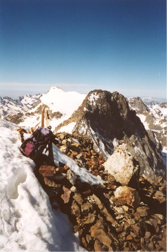 Clot Châtel - sommet