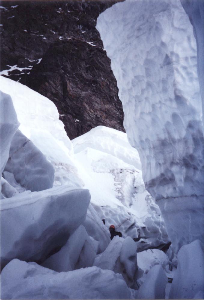 Le glacier du Taillefer : petit mais costaud
