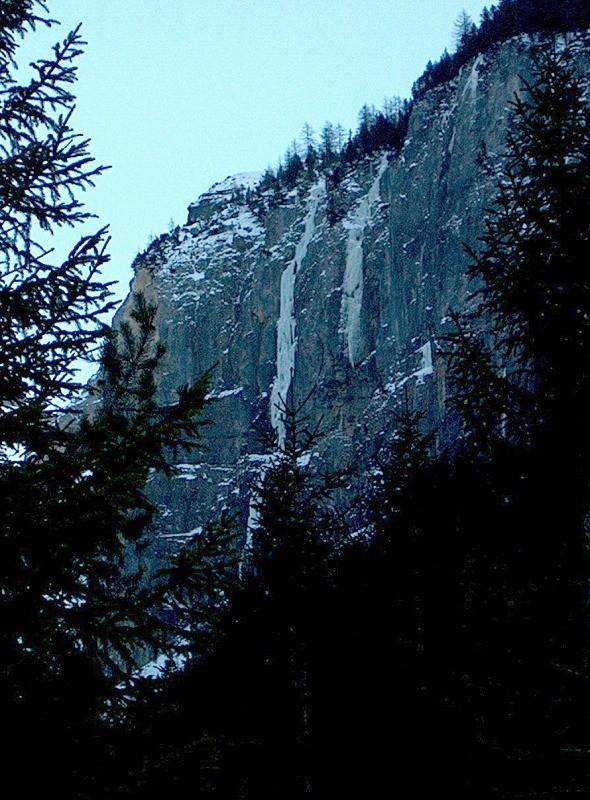 Cascades de Kandersteg
