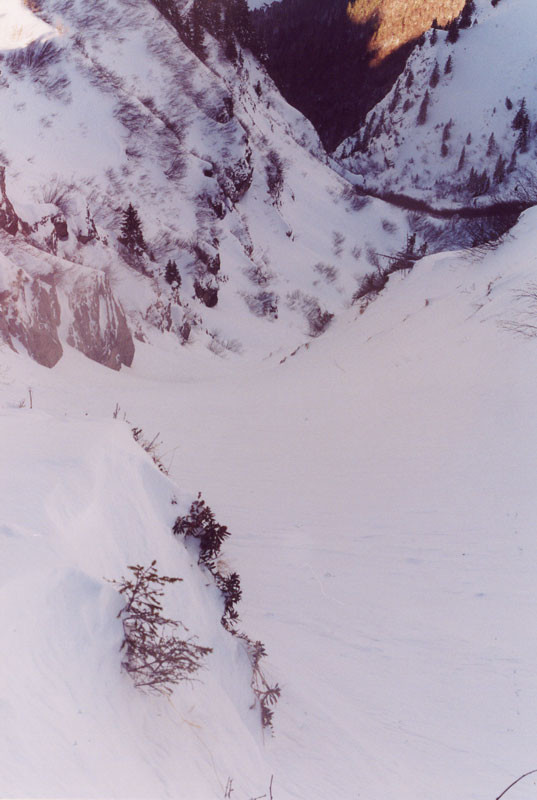 Couloir NNO d'Ardens