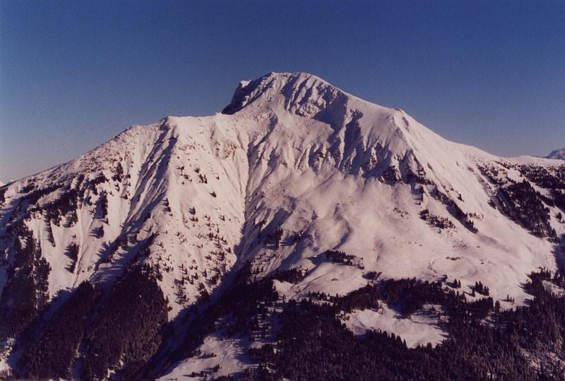 Versant O du Mont de Grange