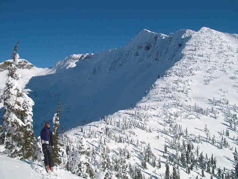 Ymir peak west ridge