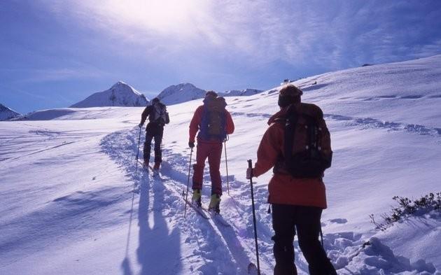 La montée au Cap de Laubère
