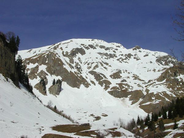 Face Est  (Mont de Grange)