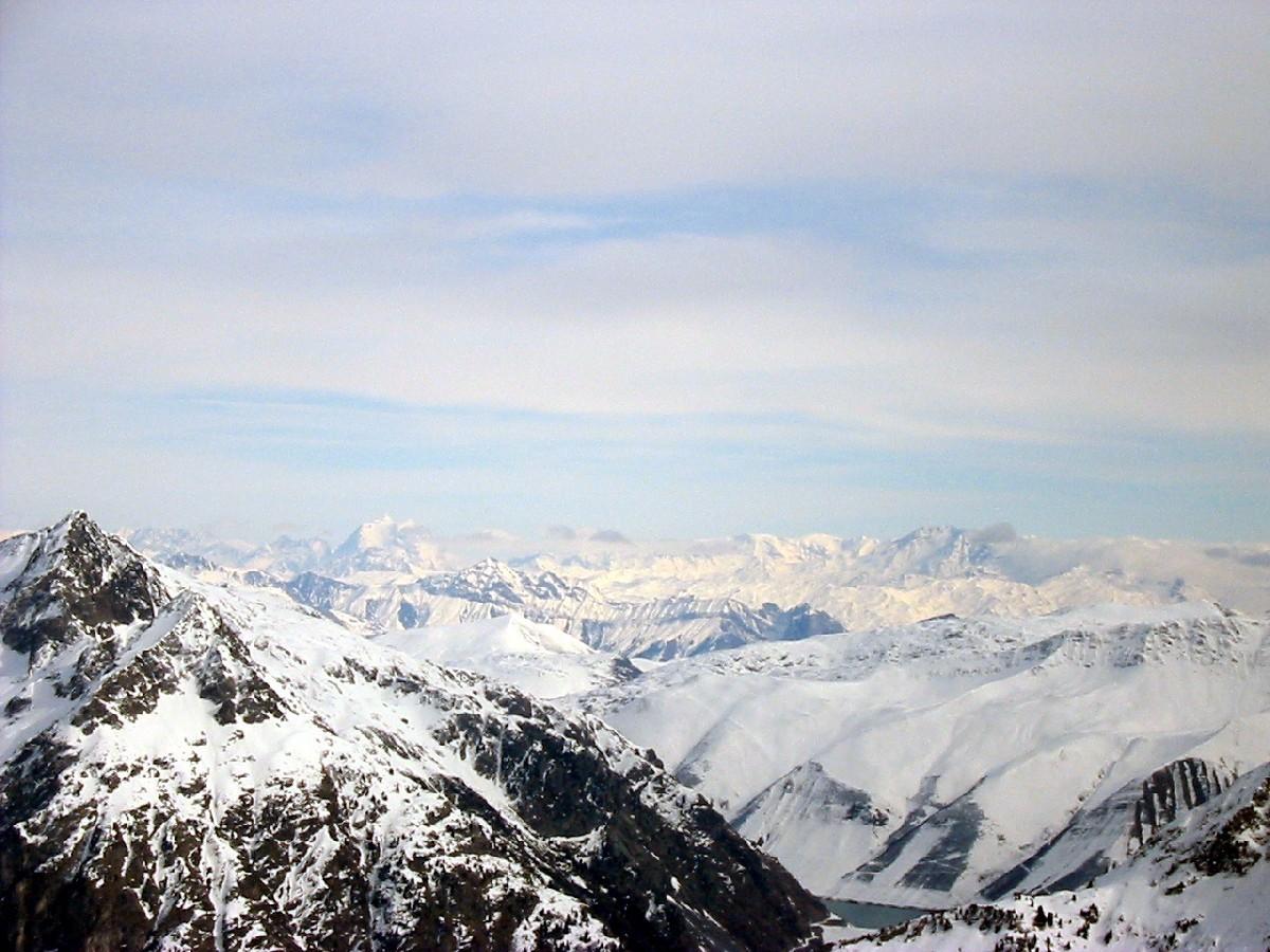 Vue du Col de la Roche Noire