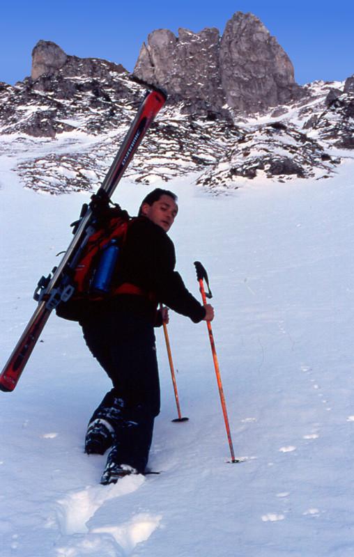Bruno Romand-Monnier dans le Ravin des Nex