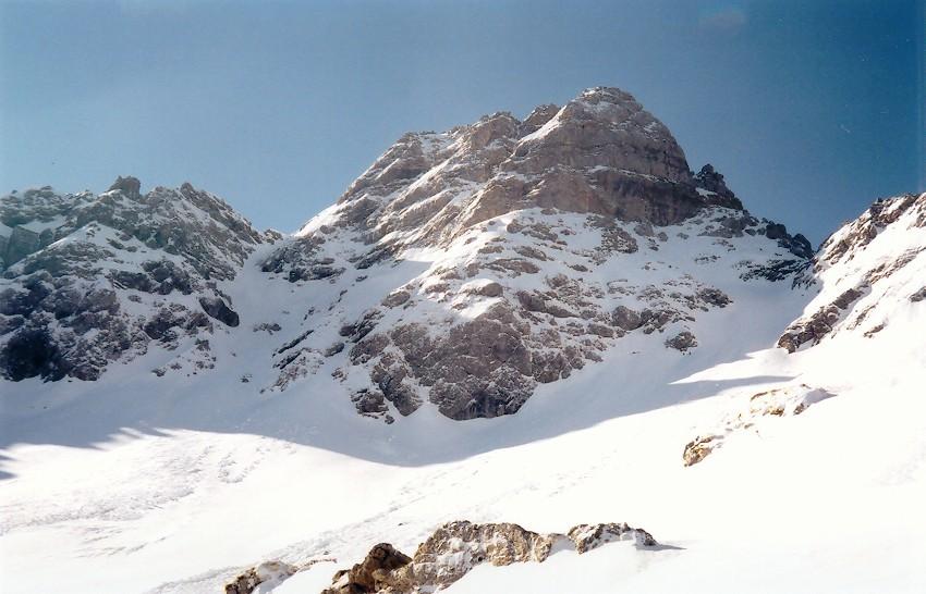 Mont de Grange - couloir de Chemine