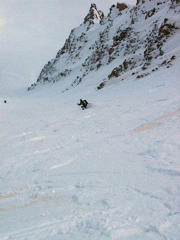 Couloir NE du Golliat