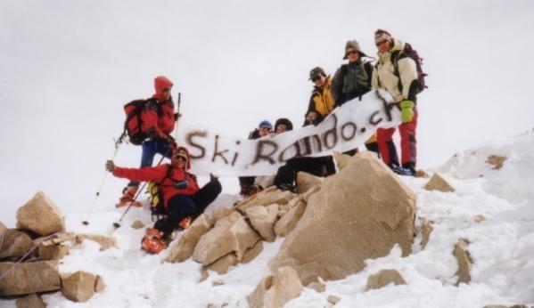 The 9 skirando.ch summiters