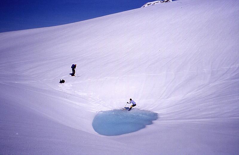 Gamserchopf's waterslide