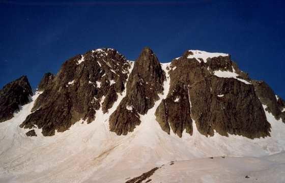 Les couloirs du rocher Piliozan