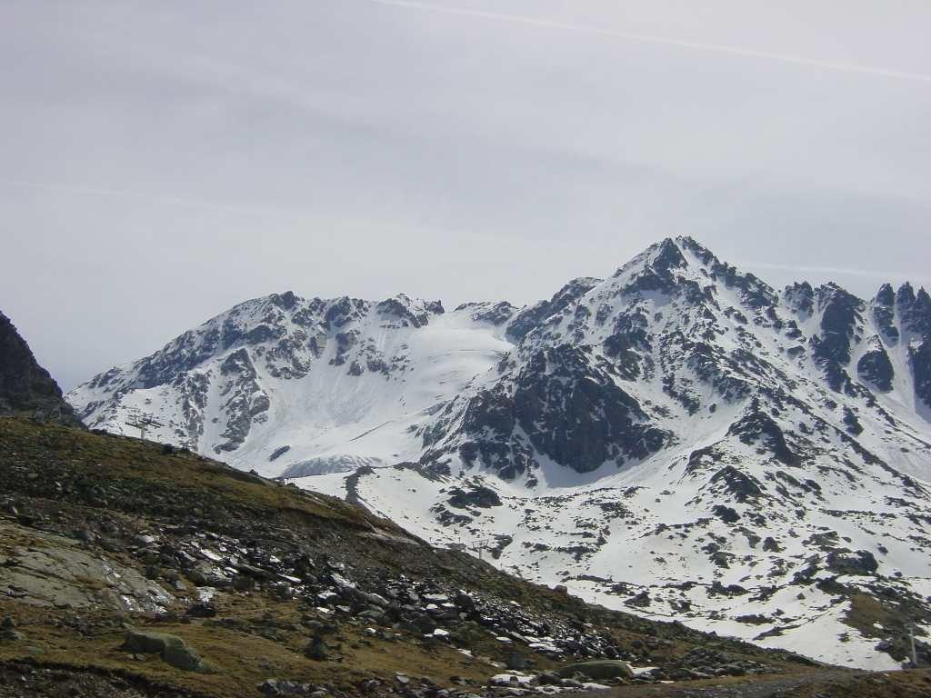 Aiguille de Péclet depuis Val Thorens