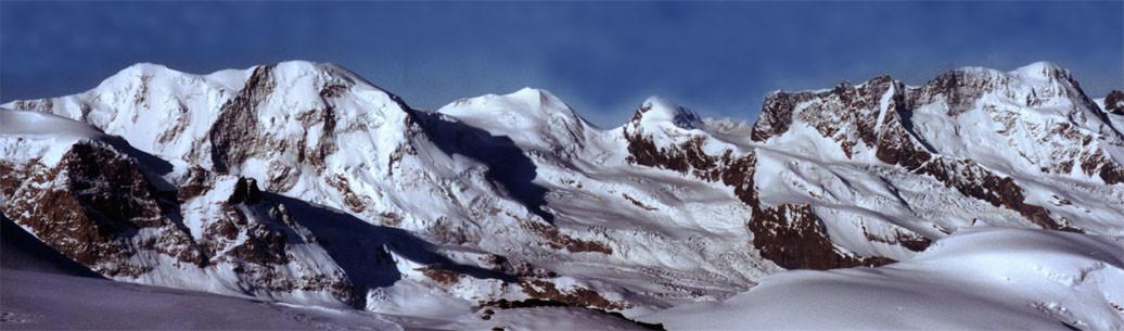 Panorama dallo Strahlhorn
