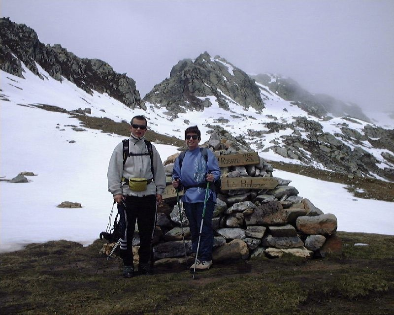 Col du Mont Rosset 2332m