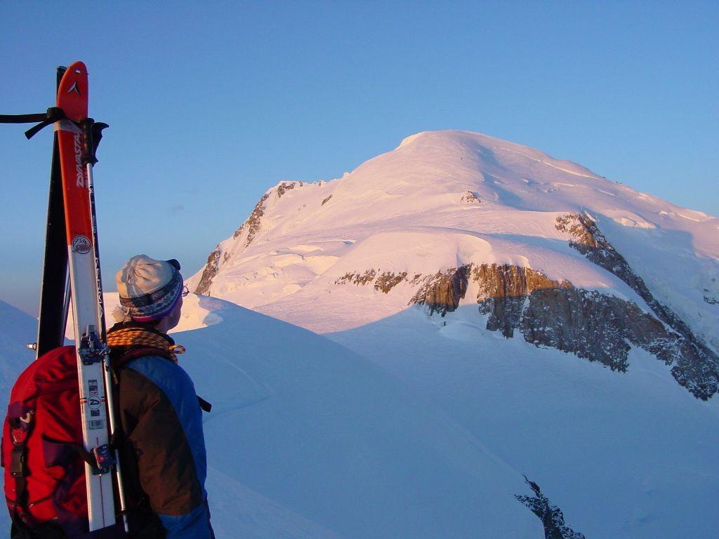 Le Mt-Blanc depuis l'Epaule du Mt Maudit
