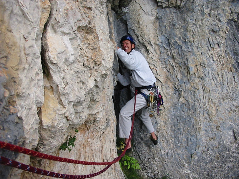 Les rochers de Leschaux - Dièdre des Annemassiens