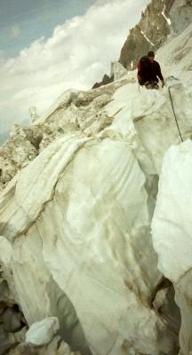 le glacier des grands mulets