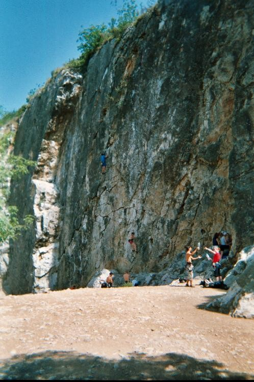 La falaise de la Trinite
