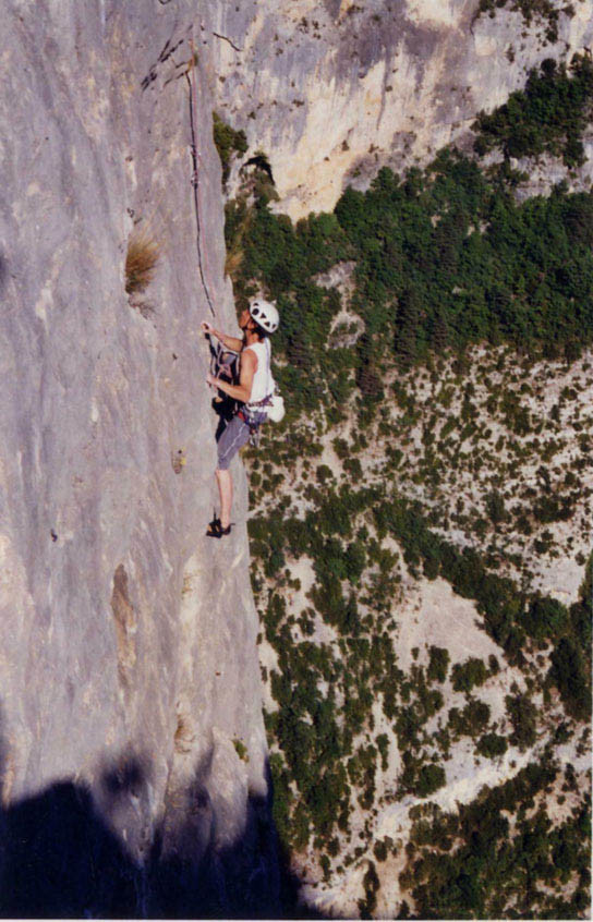 Verdon - juillet 2002 - l'Escalès