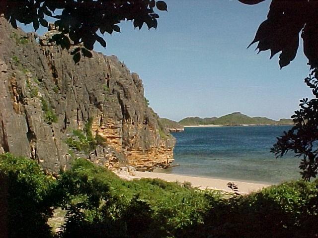 La vue des emplacements de Newsea Roc Nosy Andantsara
