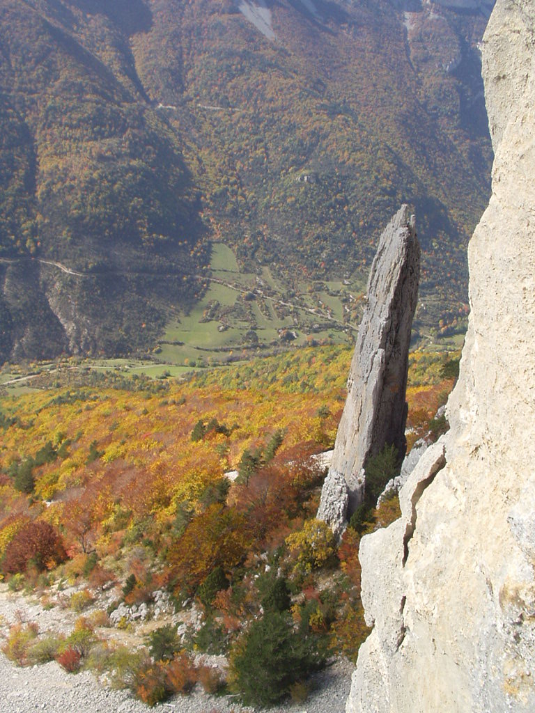 Vue sur la vallée (de l'innominée)
