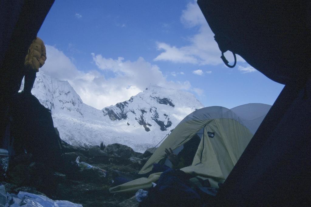 Camp d'altitude de l'Ishinca (4900m)