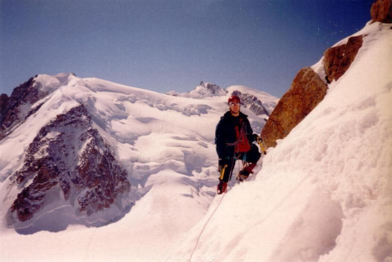 Arrête des Cosmiques; Mont Blanc