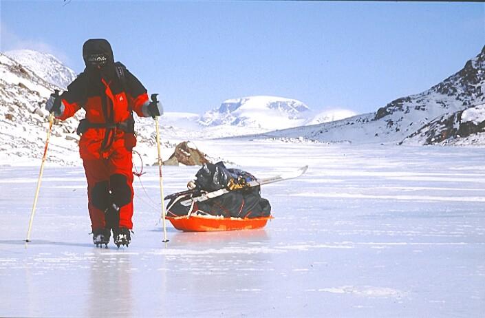 summit lake vallée de la Weasel baffin