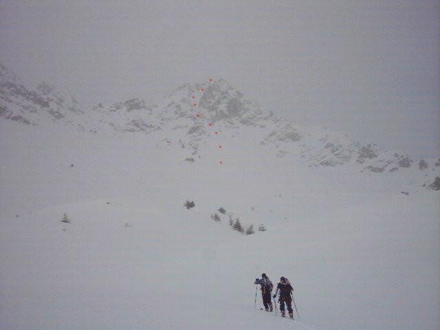 Monte Freid -  Canale Est