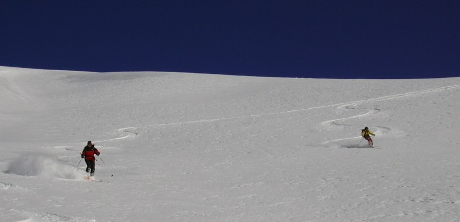 Trop facile a skier!