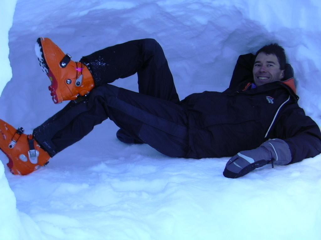 Fab dans le trou a neige