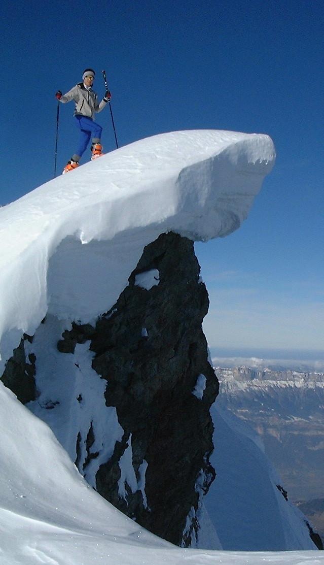 Bubu au sommet du Stone Peak, 6270m