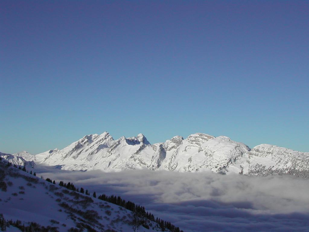 Panorama depuis la Tete de la Sallaz