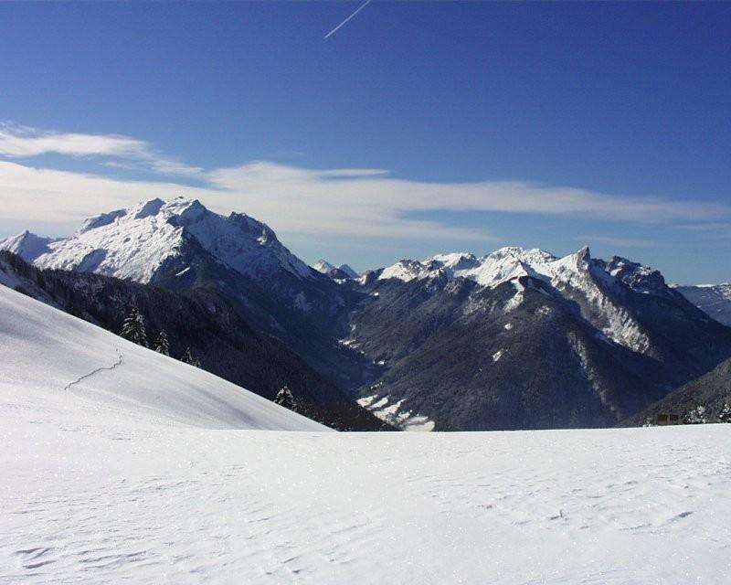 Vue du Col de la Buffaz