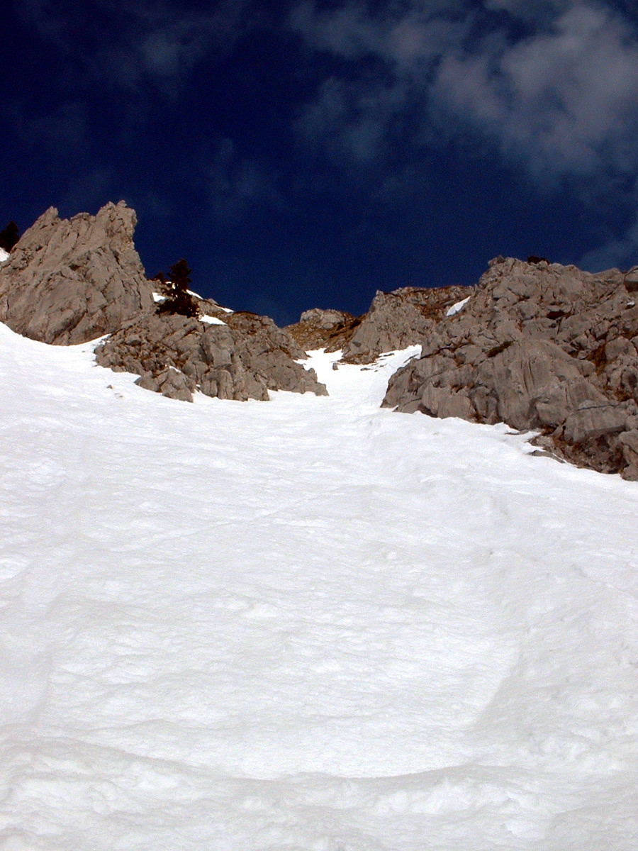 Le Linleu : couloir central S