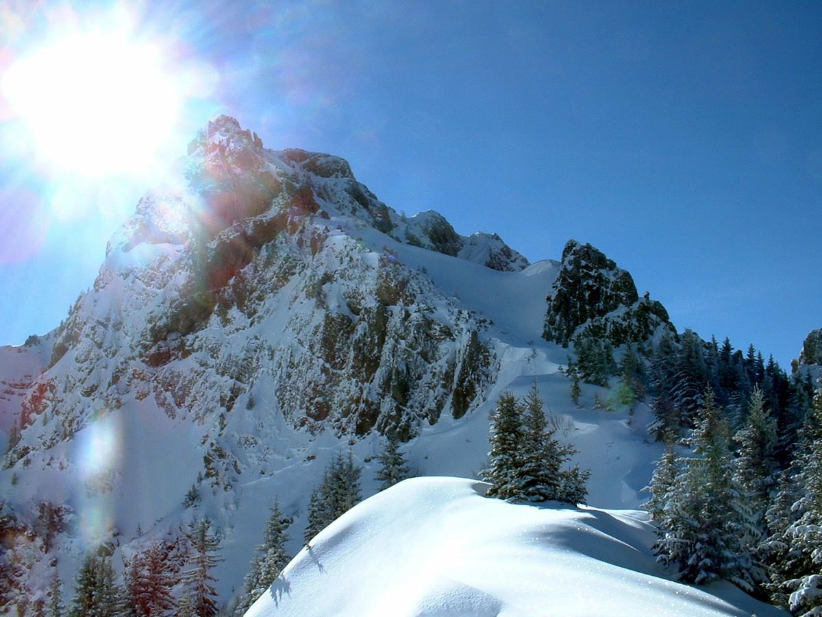 Mt Brion : vu du col de Damoz les Moulins