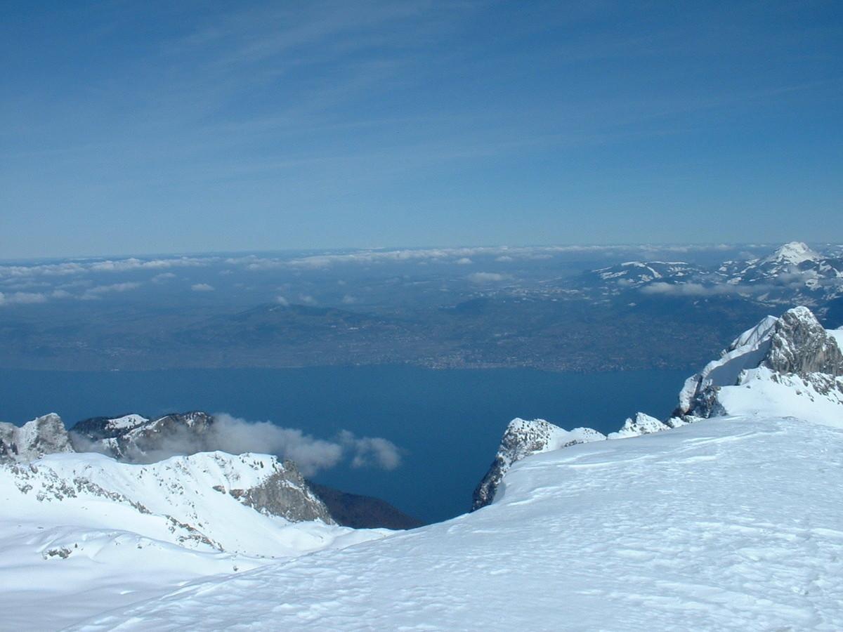 Tête de Lanchenaire : vue du sommet
