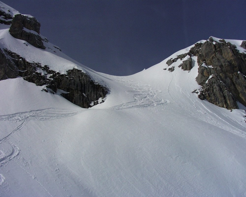 La Tournette (2351m) - Descente le plus au nord