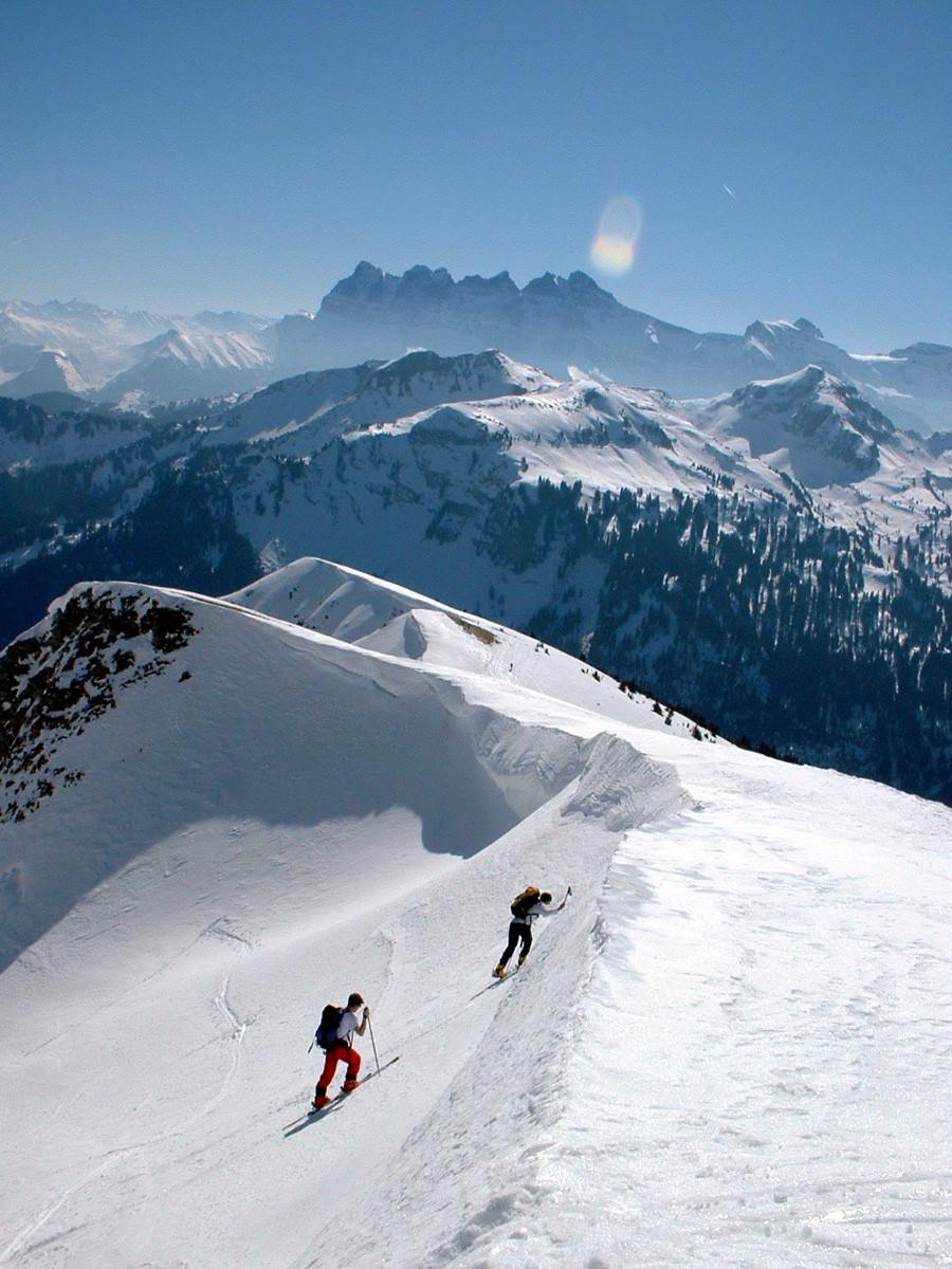 Mont de Grange : sortie sur l'arête de Coicon