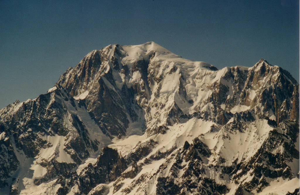 Mont Blanc - depuis Grand Golliat
