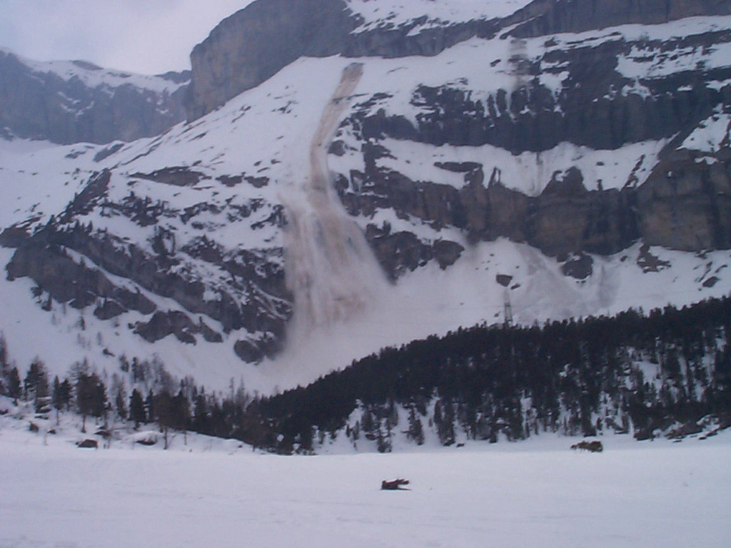 Avalanche à Uschenegrat (Kandersteg)