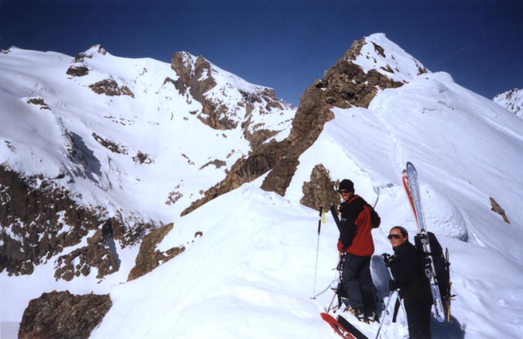 Au Col de la Montagnolle.