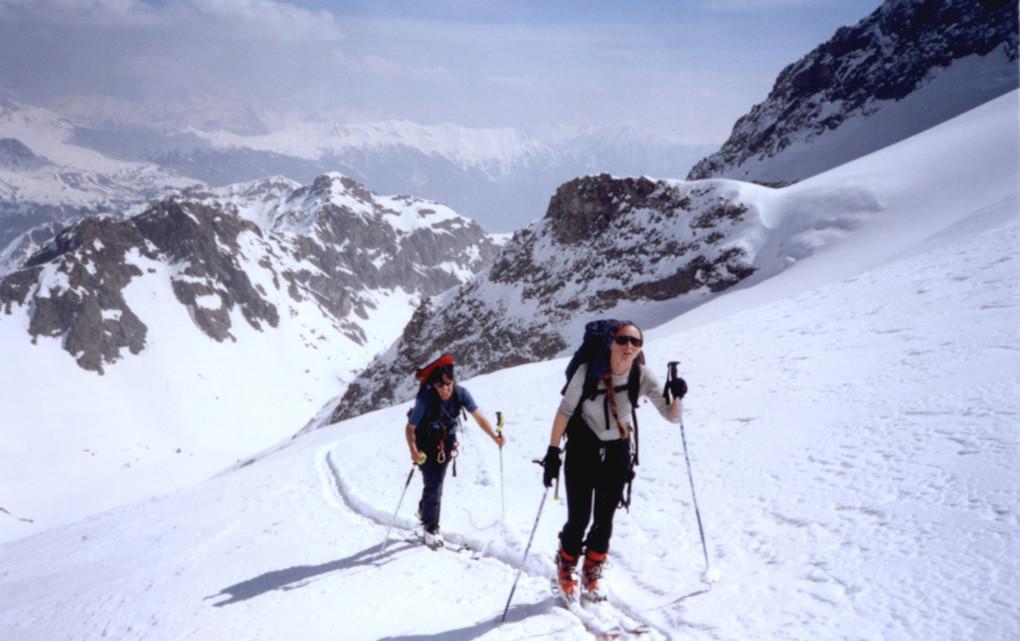 Sur le glacier de Seguret-Foran