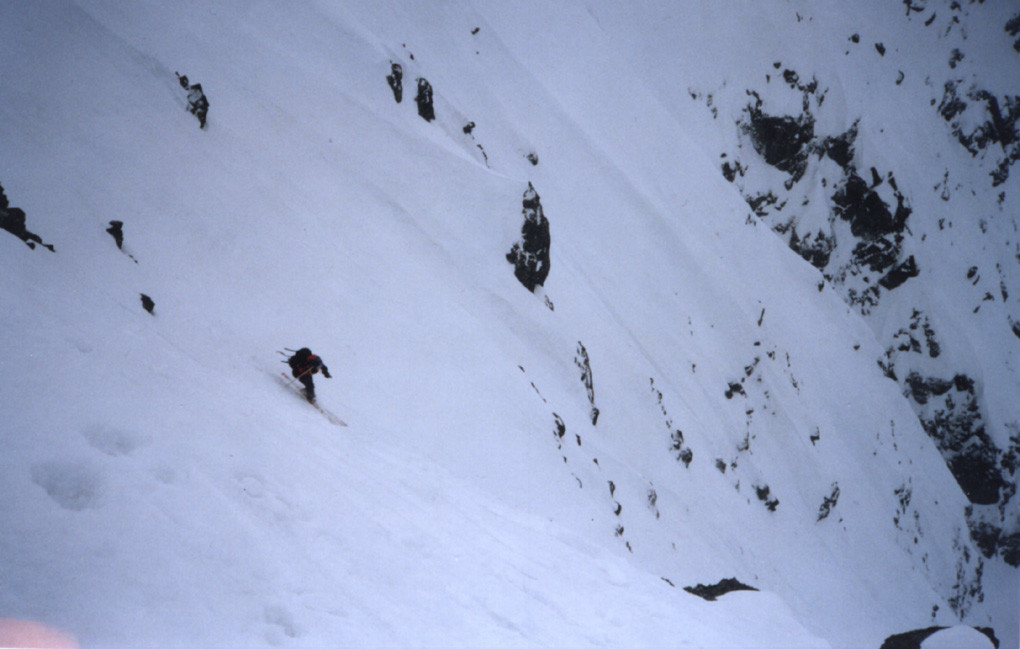 Couloir Pointe de la Scia