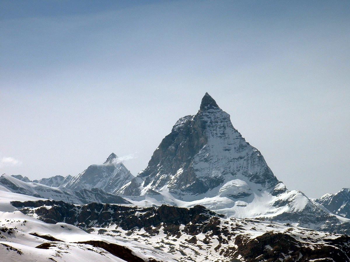 Matterhorn (Cervin) depuis la Monte Rosahütte