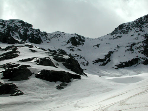 Monte Giusalet, canale nord